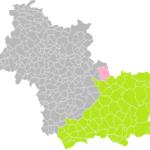 La Ferté-Saint-Cyr dans l'arrondissement de Blois